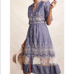 Anthropologie Moulinette Soeurs water dress